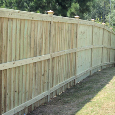 Wood Privacy Fences In Lawrenceville Georgia