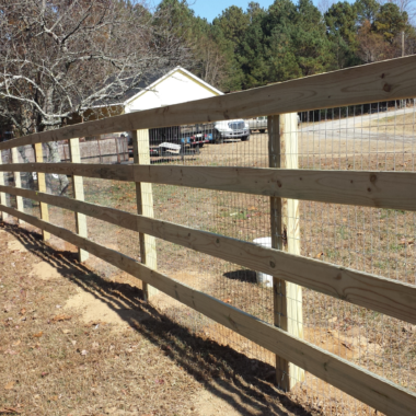 Fence Installation for Farm or Ranch in Georgia